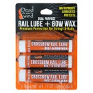 Dead Down Wind Rail Lube & Bow Wax 3 Tubes/pak