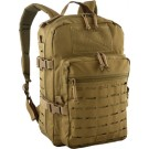 Red Rock Transporter Day Pack Coyote W/laser-cut Molle Webb