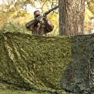 Red Rock Outdoor Gear Camouflage Netting Woodland 3D Leaf Cut 8'x10'
