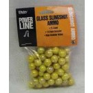 "Daisy Slingshot Ammuntion 1/2"" Glass 75-Count Pack"