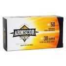 Armscor Ammo .38 Super 125Gr. FMJ 50-Pack Made In Usa
