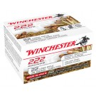 Winchester Ammunition Ammo .22LR 222 Bulk Pack 36Gr. Plated HP Case Lots Only