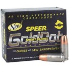 Speer Ammo Gold Dot Short Bbl. 9MM Luger+P 124Gr. Gdhp 20-Pk.