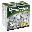 "Remington Ammo Hypersonic Steel 25Pk 12GA 3"" 1700FPS. 1-1/4Oz. #4"