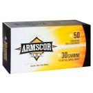 Armscor Ammo .30 Carbine 110GR FMJ 50 Pack