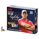 CCI Ammo Swamp People 22LR 36Gr. Copper Plated-HP 300-Pk.