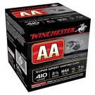 "Winchester Ammunition Ammo Aa Target .410 2.5"" 1300FPS. 1/2Oz. #7.5 25-Pack"