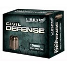 Liberty Ammo Ammo Civil Defense 10MM Auto 60Gr. HP 20-Pack