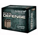 Liberty Ammo Ammo Civil Defense .45 Colt 78Gr. HP 20-Pack