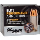 Sig Ammo .45 Long Colt 230gr. Elite V-crown Jhp 20-pack