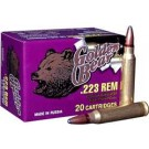 Golden Bear .223 Remington 62Gr. Soft-Point 20-Pack