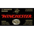 Winchester Ammunition Ammo Supreme .22Wrm 2120FPS. 34Gr. JHP 50Pack