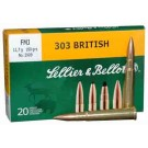 Sellier & Bellot Ammo .303 British 180Gr. FMJ 20-Pack