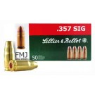Sellier & Bellot Ammo .357 Sig 140Gr. FMJ 50-Pack
