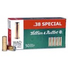 Sellier & Bellot Ammo .38 Special 148Gr. Lead Wadcutter 50-Pack