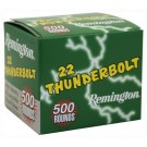 Remington Ammo .22 LR Thunderbolt 40Gr. Lrn 5000Rds Case Lots