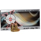 Ten-X X Ring Ammo .45acp 230gr. Fmj 50-pack