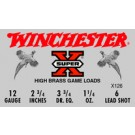 "Winchester Ammunition Ammo Super-X 12GA. 2.75"" 1330FPS. 1-1/4Oz. #6 25-Pack"
