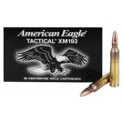 Federal Cartridge Ammo Ae Tactical 5.56x45 XM193 55Gr. FMJ-BT 20-Pack