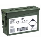 Federal Cartridge Ammo Ae Tactical 5.56x45 55Gr. FMJ 420Rd Ammo Can Clipd