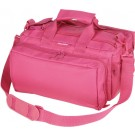Bulldog Deluxe Range Bag Pink Heavy Duty Nylon Water Resist