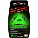 "Dead Ringer Broadhead Switch Back 3-blade 100gr 1""-1 1/2"""