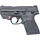 S&W Shield M2.0 M&P 9 9mm  FS W/ctc Integrated Red Laser