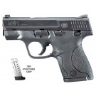 "Smith & Wesson Shield M&P9 3.1"" Barrel FS Blackened SS/Black Polymer 9mm"