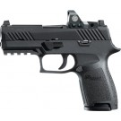 "Sig P320 9mm Luger 3.9"" Night Sight 15-sh Blk W/reflex Sight"
