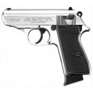 "Walther PPK/S .22 LR 3.3"" AS 10-Shot Nickel Plated"