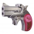 "Bond Arms Mini .357 Magnum 2.5"" FS Stainless Wood Pink"