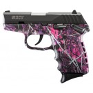 SCCY CPX1-Cb Pistol DAO 9MM 10Rd Black/Muddy Girl Safety