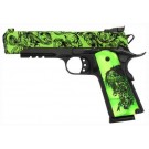 "Iver Johnson Arms 1911A1 Eagle LR Zombie .45ACP 5"" Adj 8Rd"