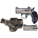 """Bond Arms Arms Old Glory 3.5"""" Bbl .45lc/410 Package 2 W/flag Grp"""