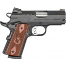"Springfield 1911 EMP 3"" Barrel FNS 9-Shot Black Hardwood 9mm"