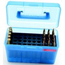 MTM Case-Gard Deluxe Ammo Box 50-Rounds X-Large Rifle Calibers Green