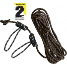 Muddy Outdoors Life-line 30' W/ Double Rope Loops Reflective Rope