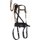 Muddy Outdoors Safeguard Harness Large Black W/lineman's Rope & Tstrp