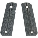 Pachmayr Dominator G10 Grips For 1911 Gray/Black Checkered