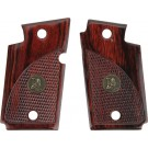 Pachmayr Laminated Wood Grips Sig P938 Rosewood Checkered