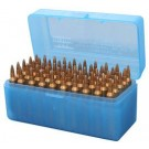 MTM Case-Gard Ammo Box Magnum Rifle 50-Rounds Flip Top Style