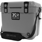 K2 Coolers Summit Series 20 Qt Steel Grey