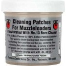 """Thompson/Center Cleaning Patches 2.5"""" Dia. Pre-Saturated W/No.13 100-Pack"""