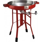 "Firedisc Cookers 24"" Deep Fireman Red"