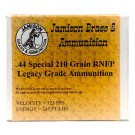 Jamison Ammo .44 Special 210GR Lead-RNfp 20-Pk