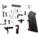 Anderson Manufacturing Complete Lower Parts Kit For Ar-15 Black Trigger