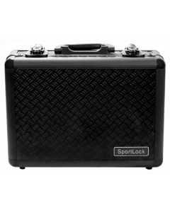 Sportlock Alumalock Case Double Handgun Black