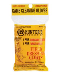Hunters Specialties Field Dressing Gloves Shoulder/wrist Length 1pr Ea