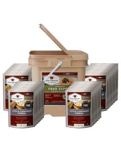 Wise Food Supply Breakfast Kit 120 Serving Black Bucket