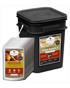 Wise Food Supply Prepper Pack 52 Serving Black Bucket
